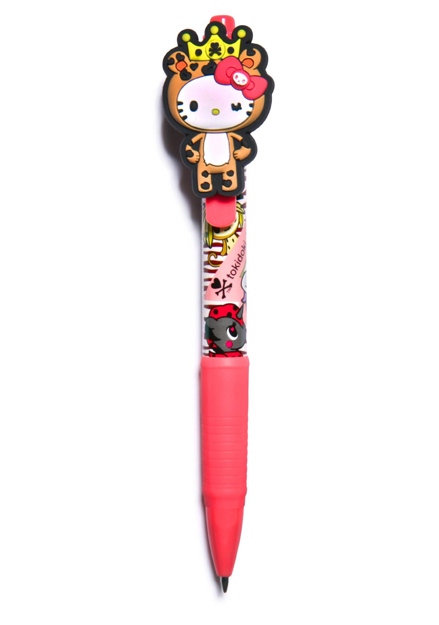 Sanrio Tokidoki X Hello Kitty Summer Safari Ballpoint Pen