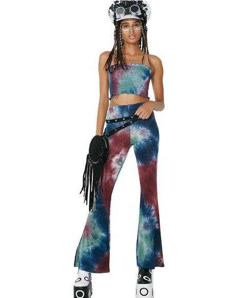Special Recipe Tie-Dye Bell Bottoms