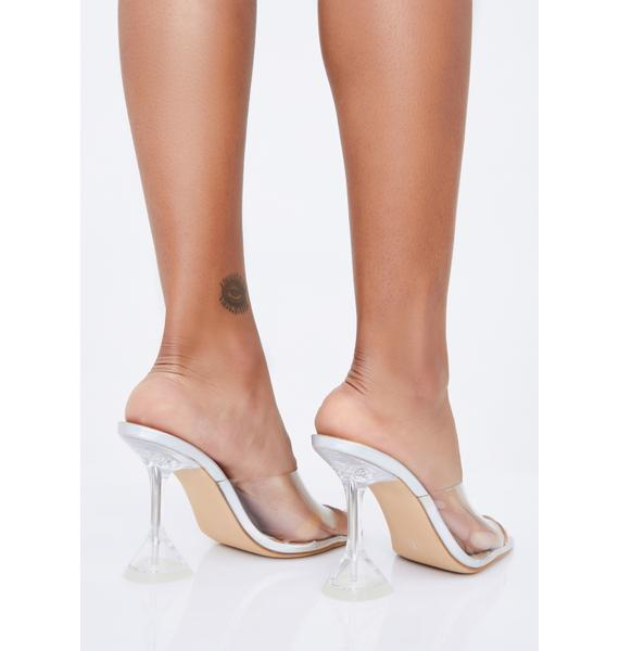 Clearly Math Is Hard Triangle Heels