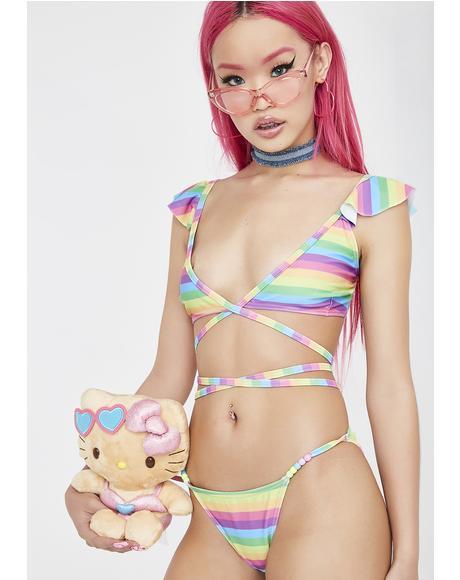 Lucky Charm Rainbow Bikini