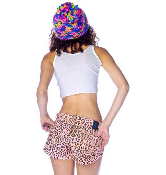 One Teaspoon Desert Cat Bonitas Shorts