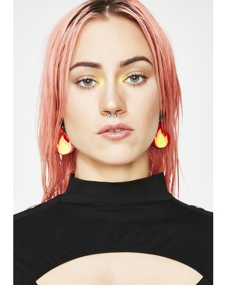 Burner Earrings