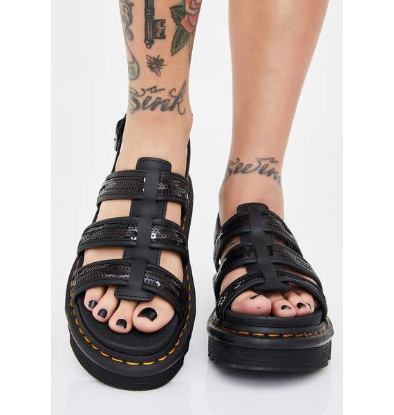 Dr. Martens Yelena Sequin Sandals