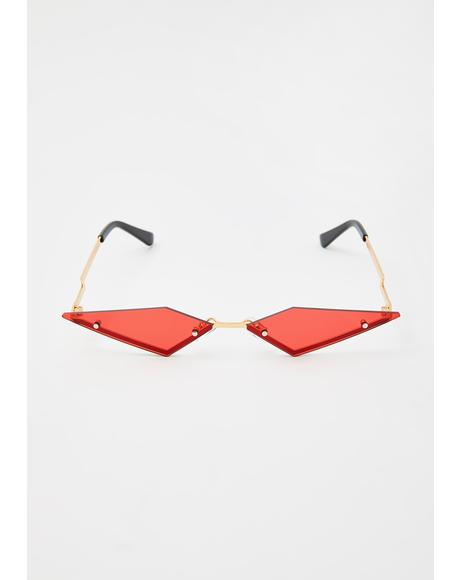 Modern Rockstar Triangle Sunglasses
