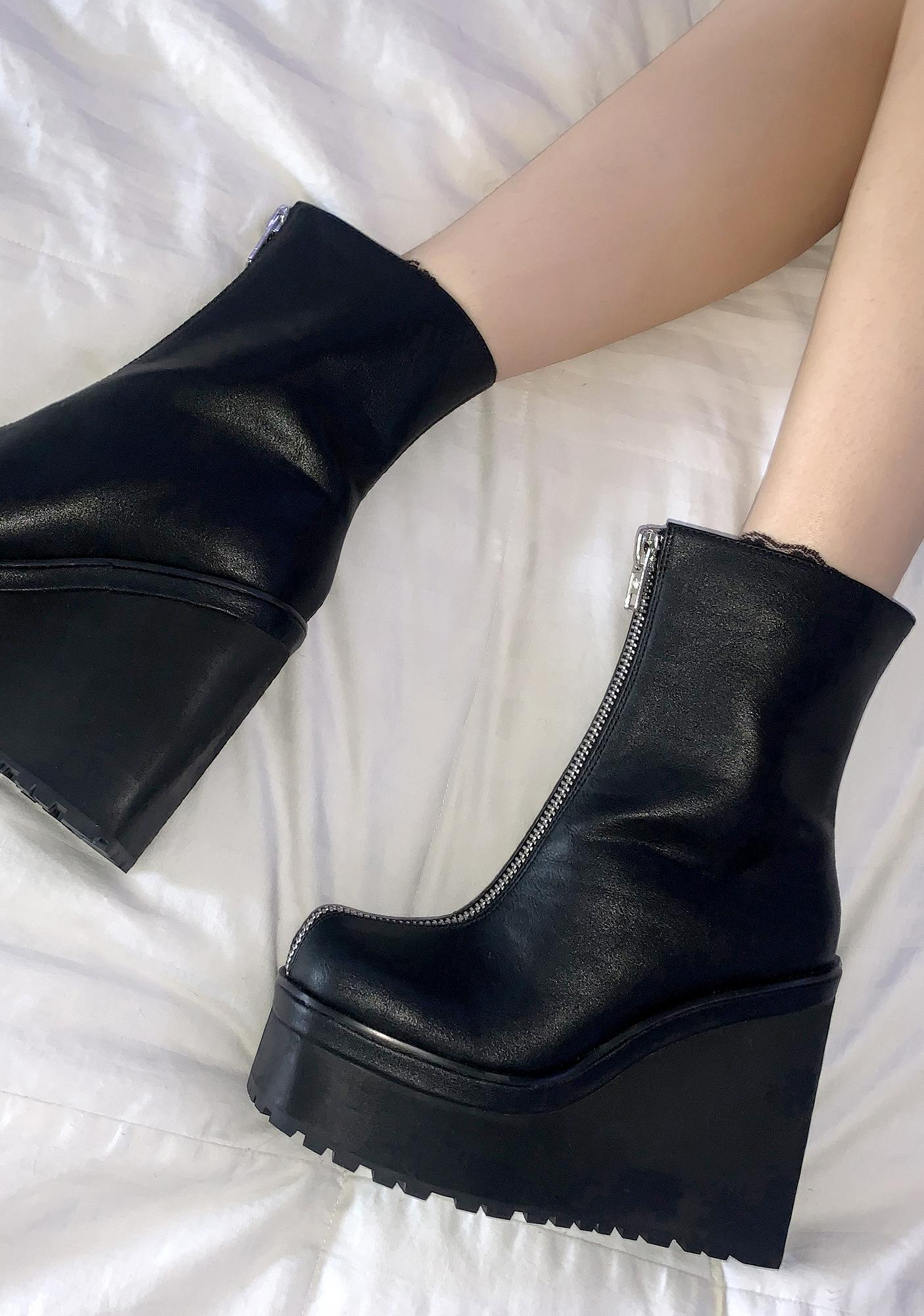 Current Mood Run This Town Platform Boots