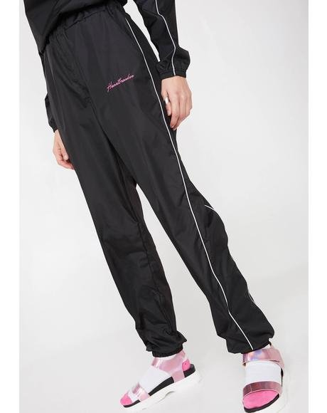 Heartbreaker Nylon Track Pants