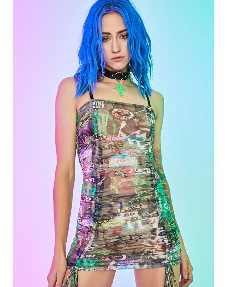 Urban Canvas Ruched Dress