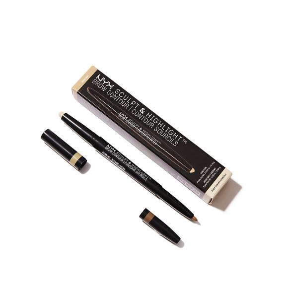 NYX Blonde Sculpt & Highlight Brow Contour
