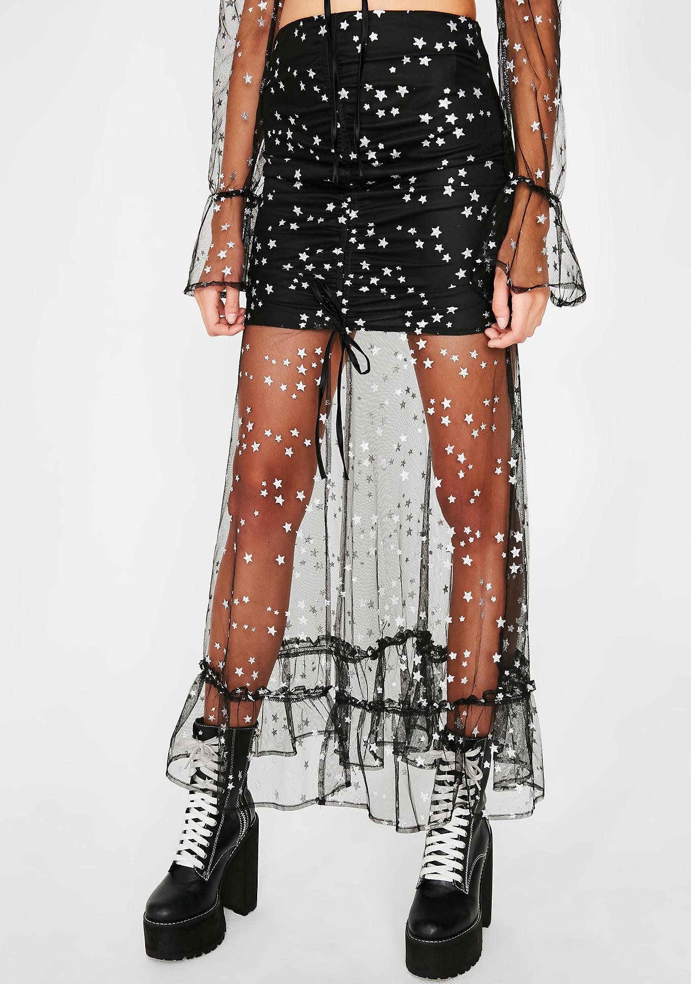 Antimatter Sheer Skirt