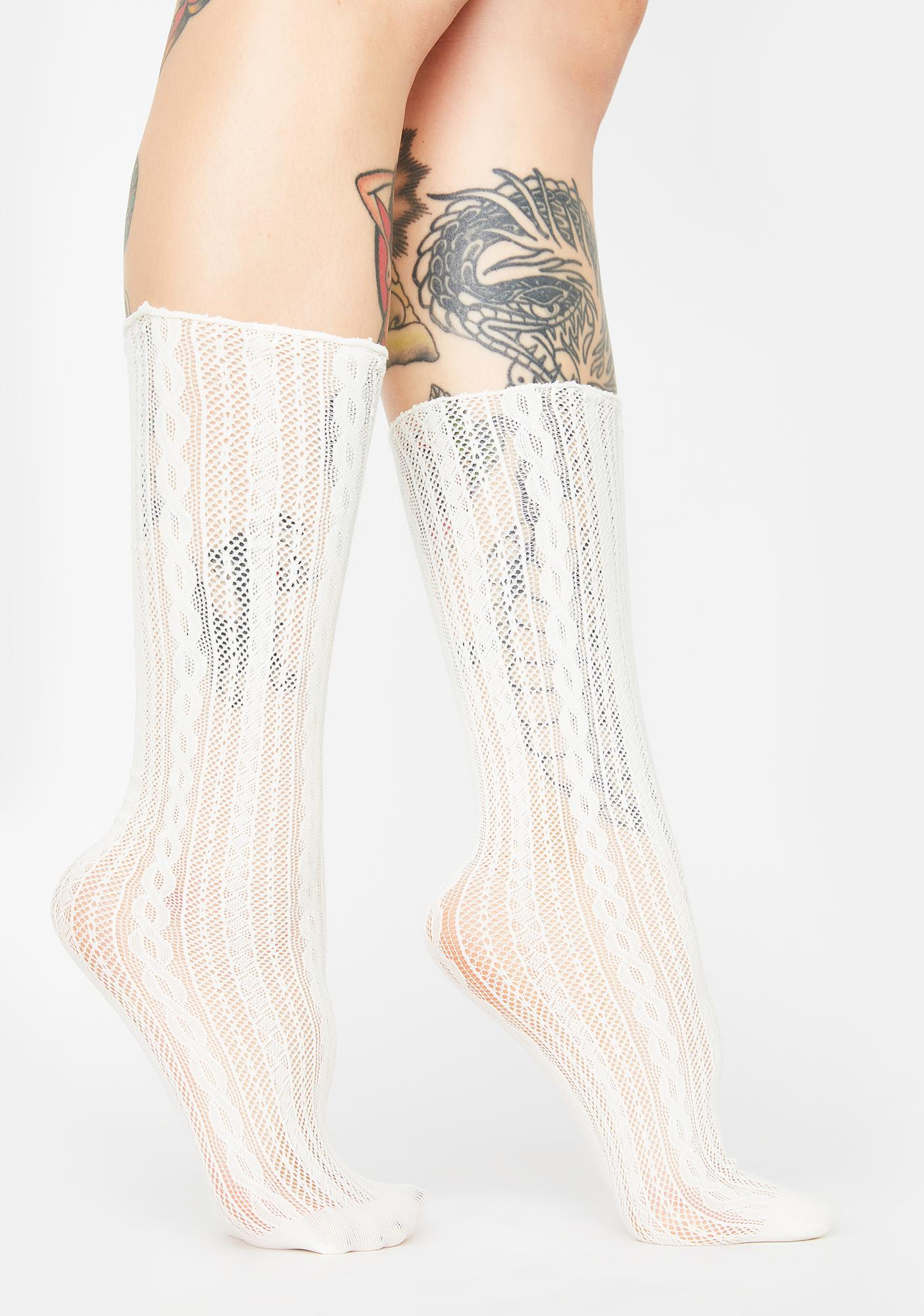 Bliss On My Mind Knit Socks