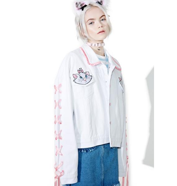 Lazy Oaf X Disney Aristocats Denim Jacket