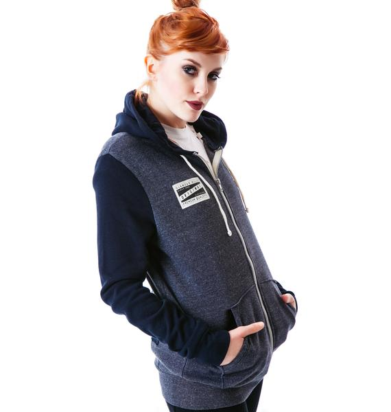 Glamour Kills Never Forever Zip Hoodie
