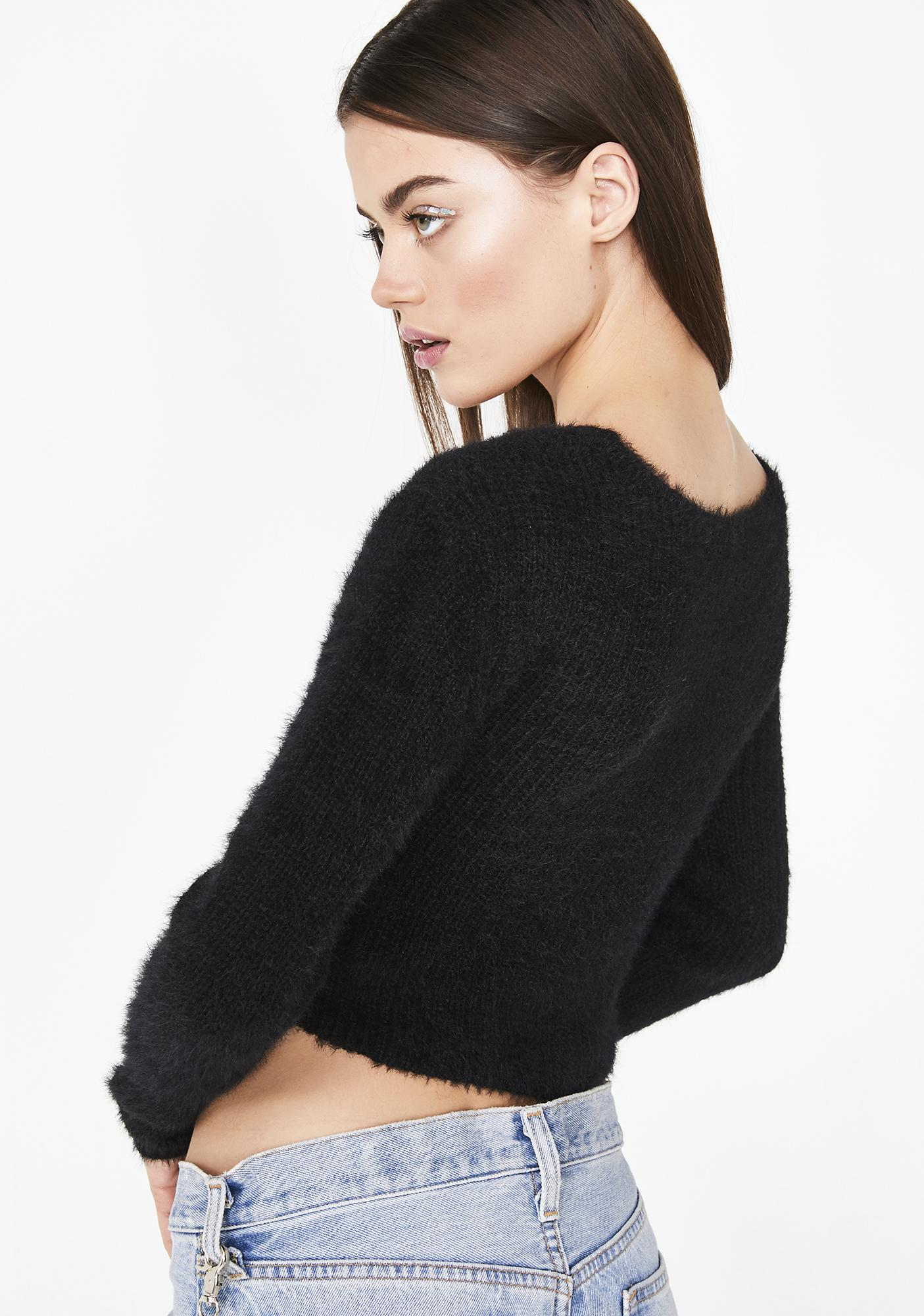 Late Nightz Wrap Sweater