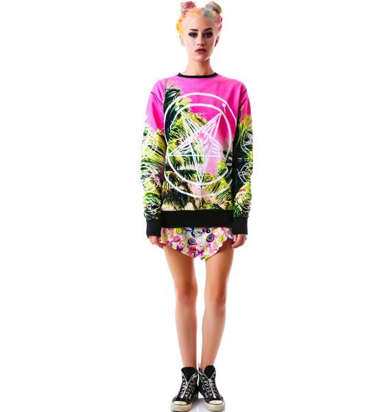 Killstar Palm Springs Sweatshirt