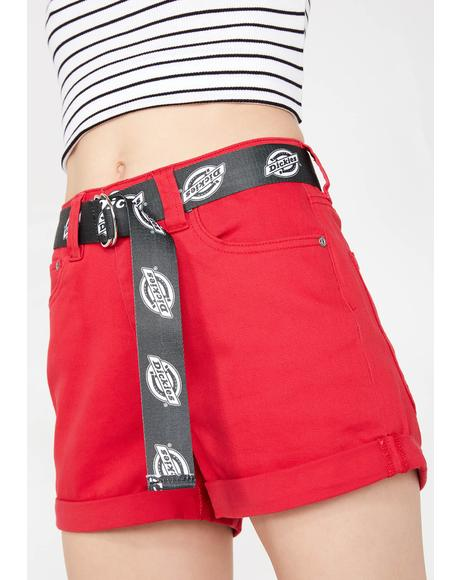 Shortie Roll Cuff Shorts
