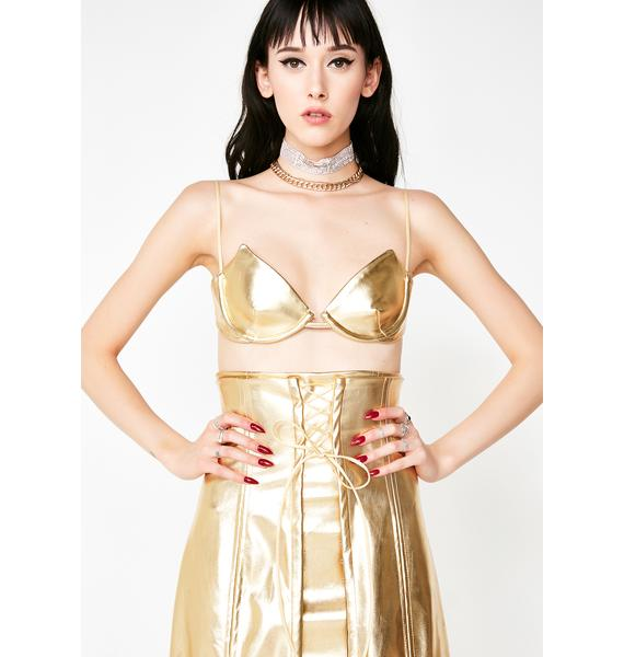 Kiki Riki Queen Attitude 3-Piece Metallic Set