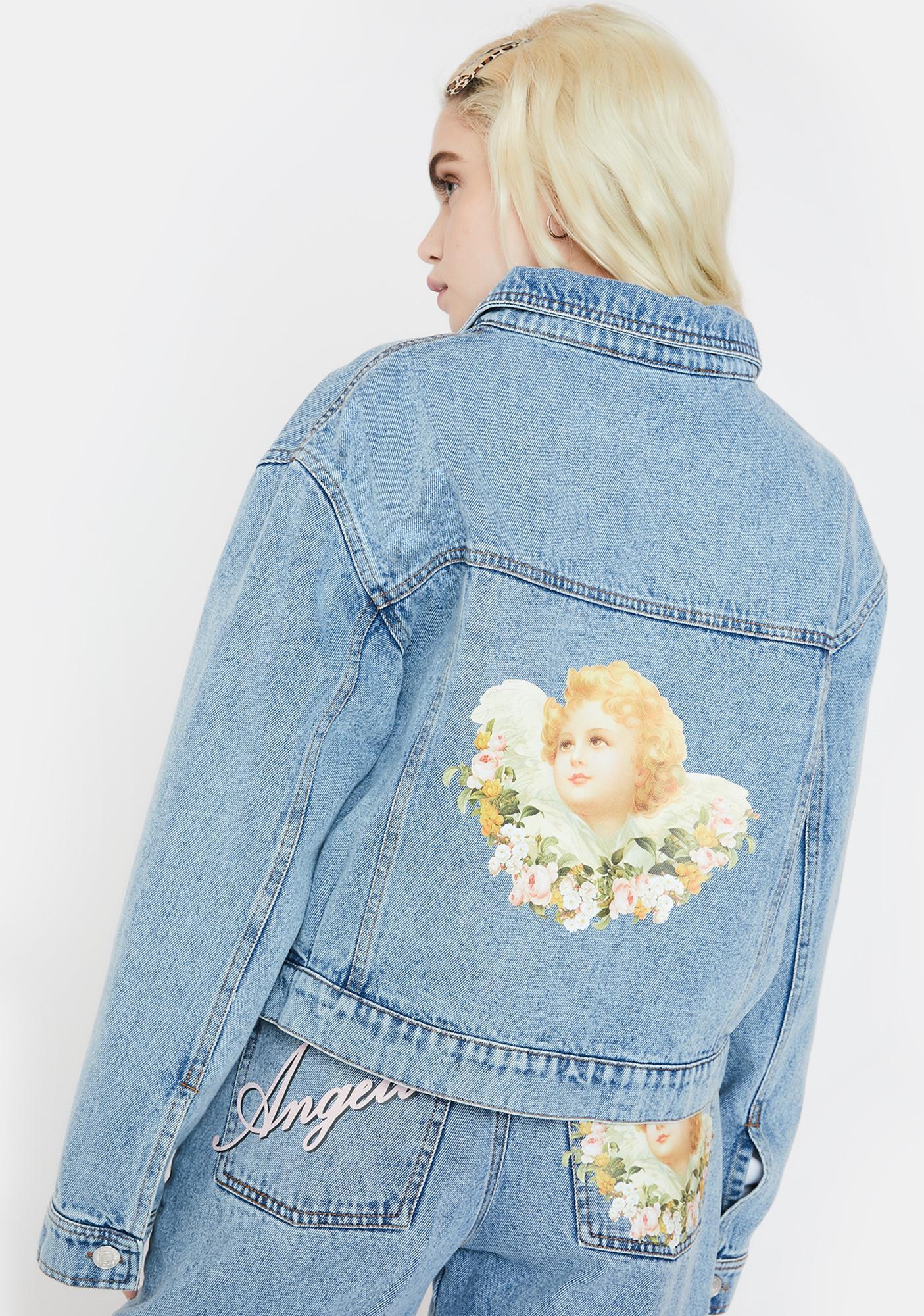 Minga Angelic Denim Jacket