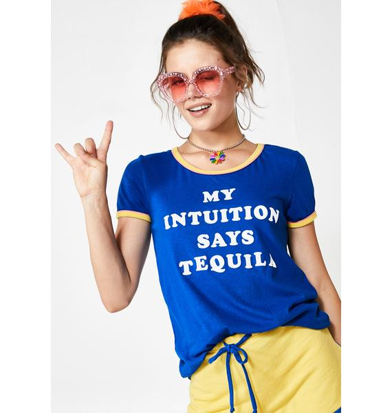 Wildfox Couture Tequila Intuition Ringer Tee