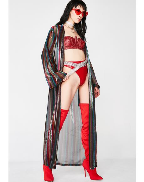 The Wizard's Mistress Sheer Kimono