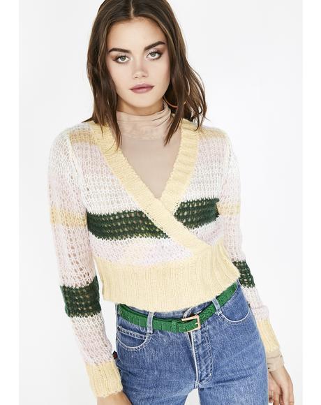 Juke Jam Cropped Sweater
