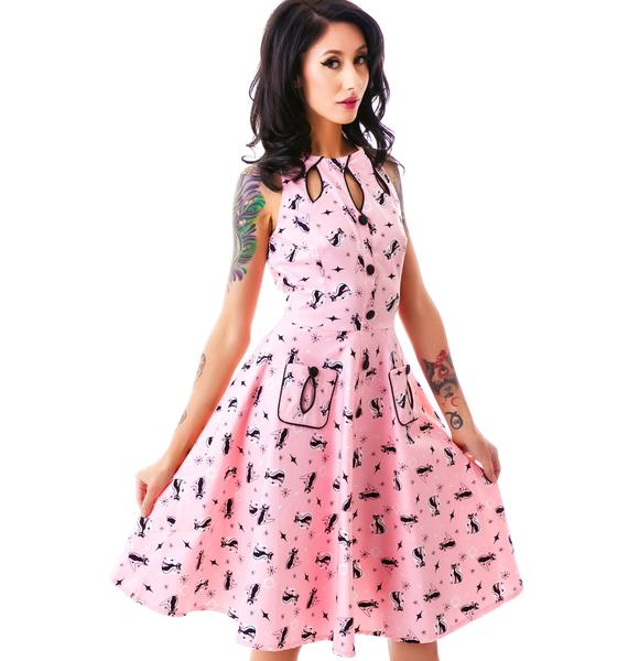 I Want You Meow Kitty Dress