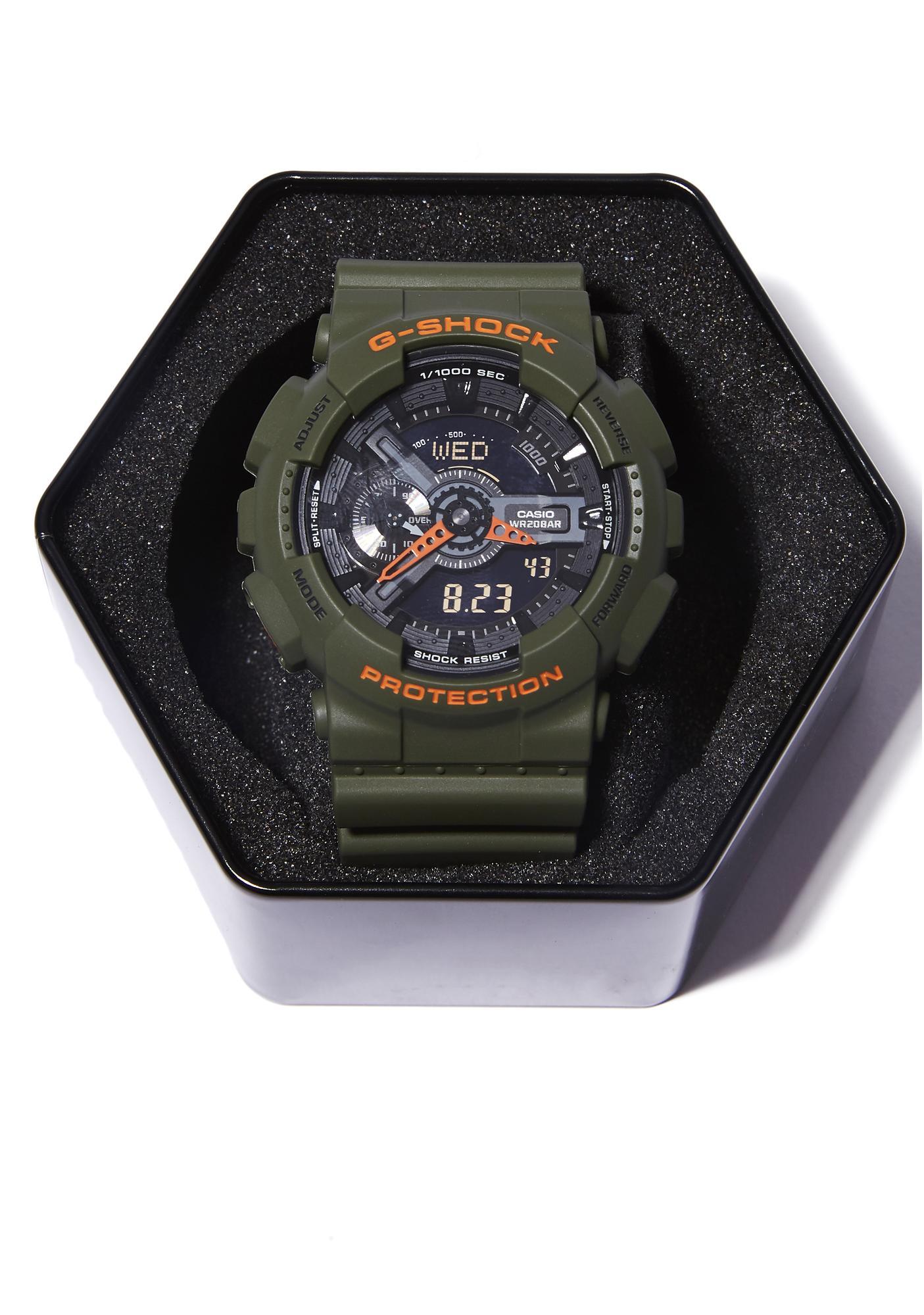 G-Shock Boot Camp GA-110 Series Watch