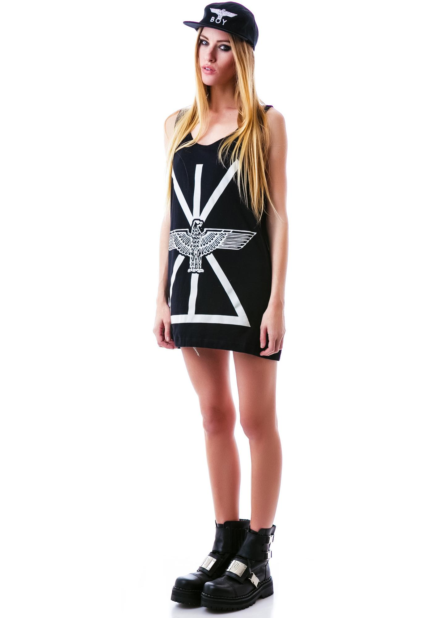Long Clothing x BOY London Boy Union Oversized Tank