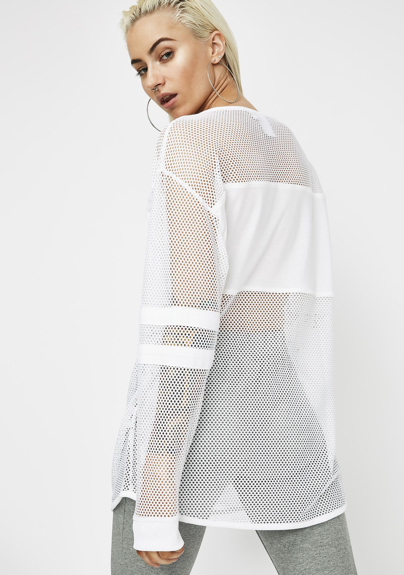 PUMA x Sophia Webster Mesh Long Sleeve