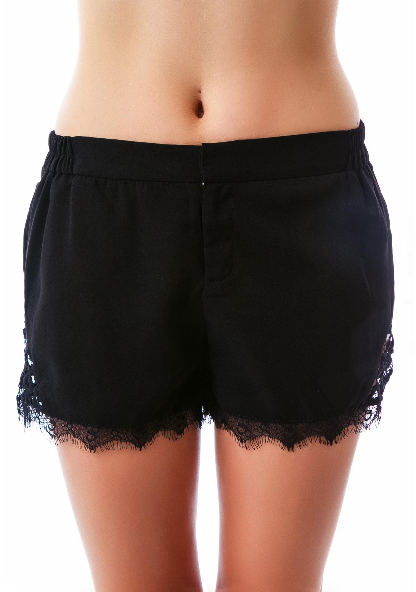 Saving Grace Lace Shorts
