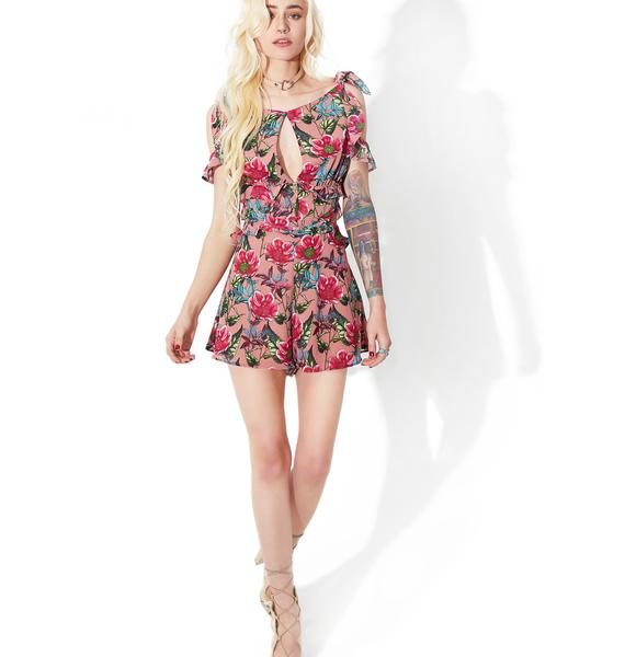 For Love & Lemons Churro Romper