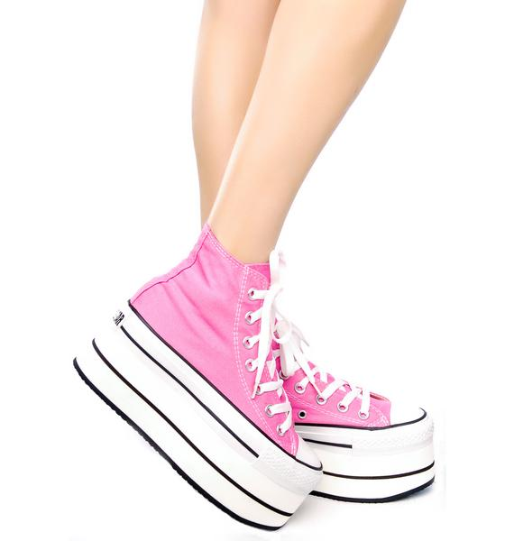 Seed of Chucky Taylor Platform Sneakers