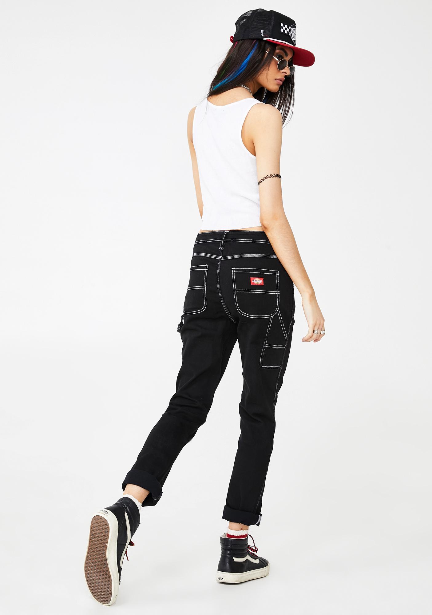 Dickies Girl Slim Carpenter Pants