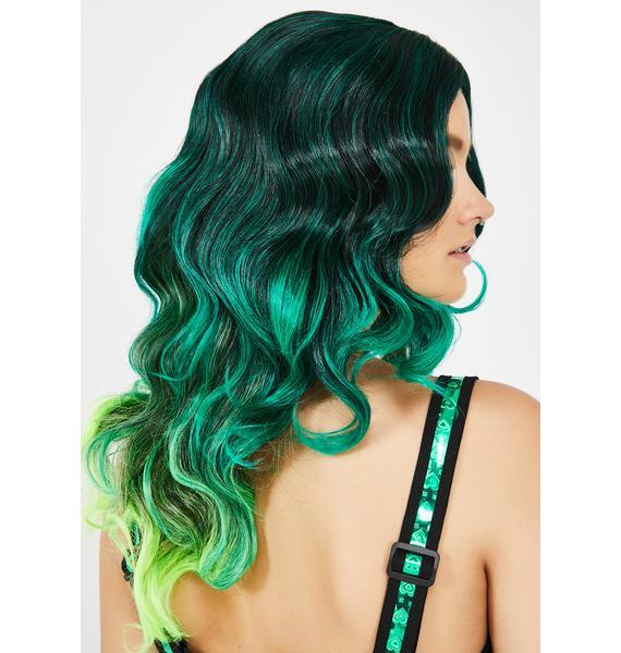 Neon Mermaid Ombre Wig