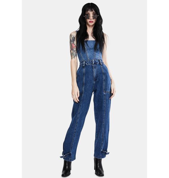 Neon Blonde Jolie High Waist Jeans
