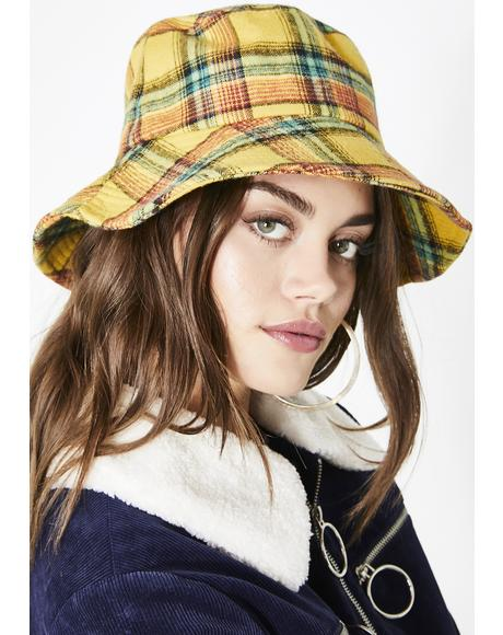 Bee Charm School Bucket Hat
