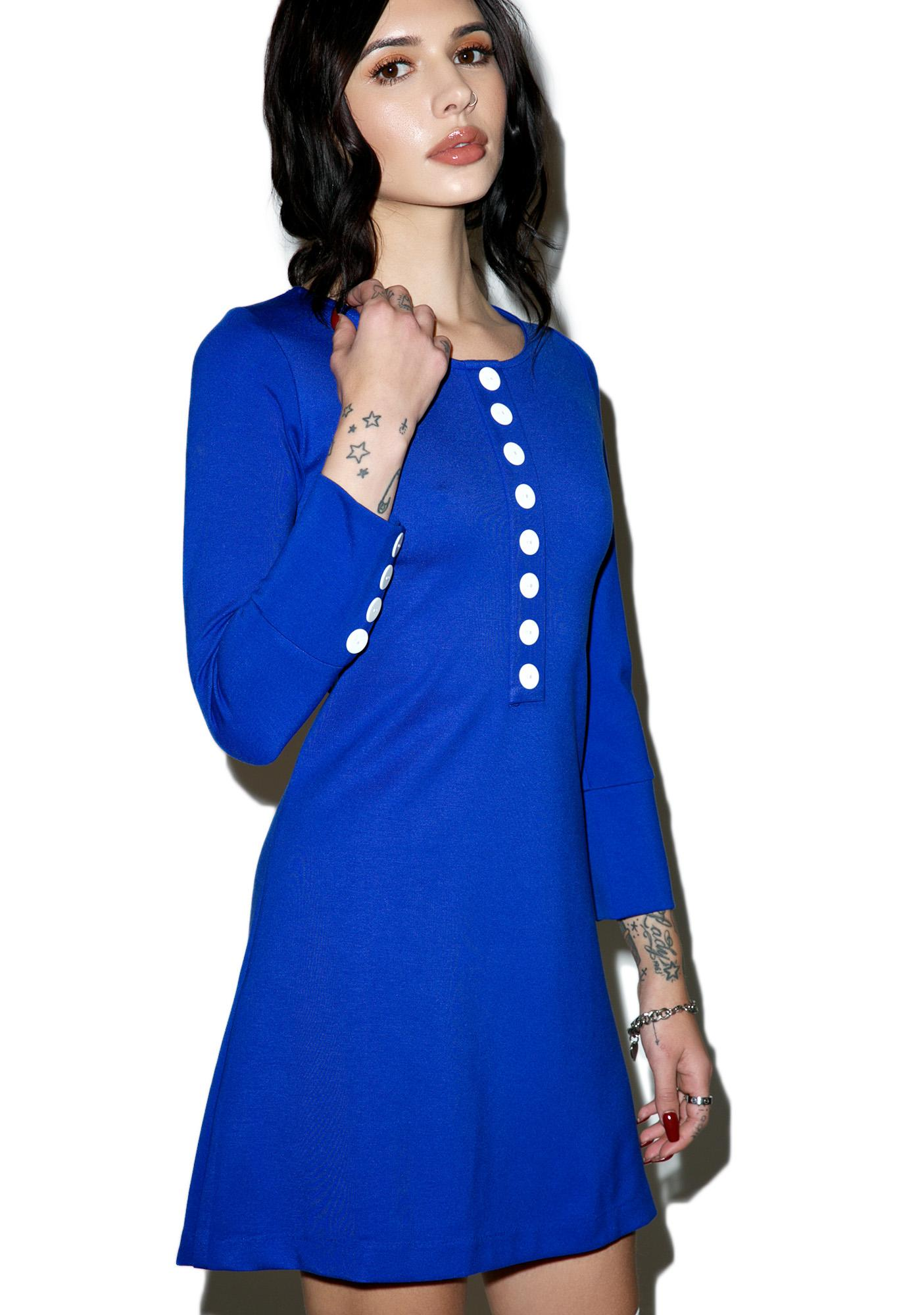 Sugarhigh + Lovestoned Sugarhigh Long-Sleeve Mini Dress