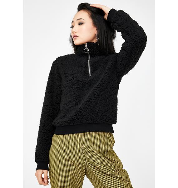 Lira Clothing Cozy Up Fleece Sweatshirt