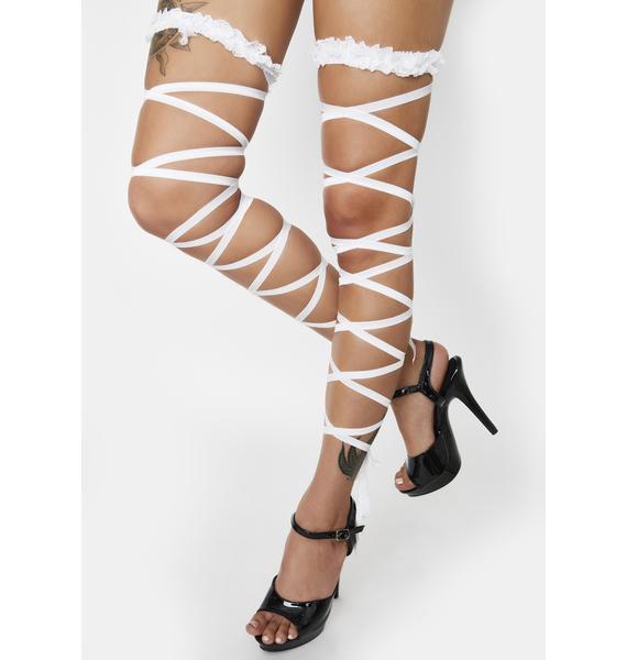 Angel Serenade Me Garter Leg Wraps