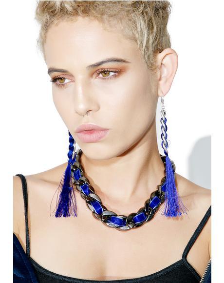 Plumage Tassel Earrings