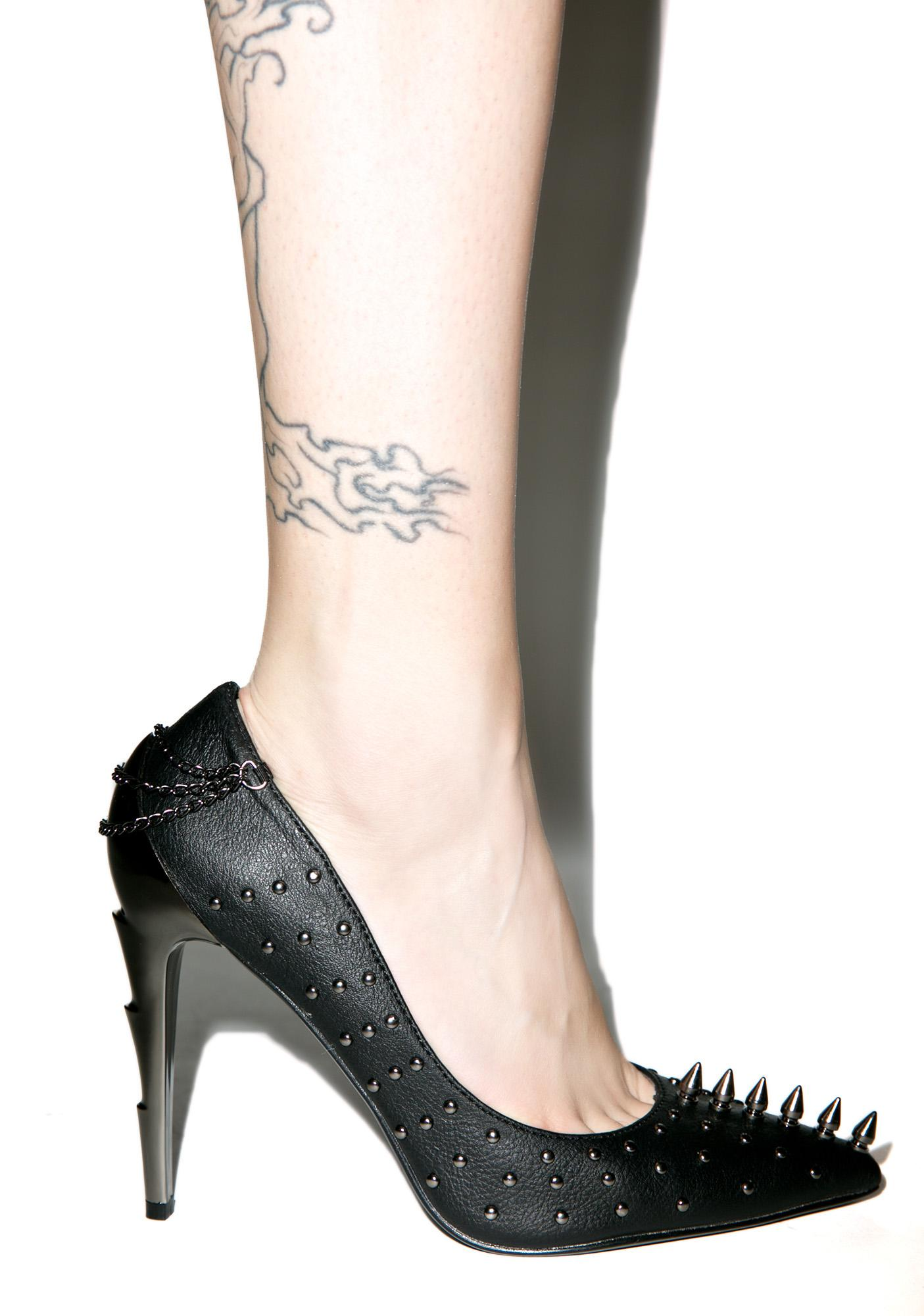 Demonia Ride The Lightning Heel