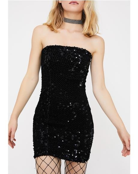 Party Mode Sequin Dress