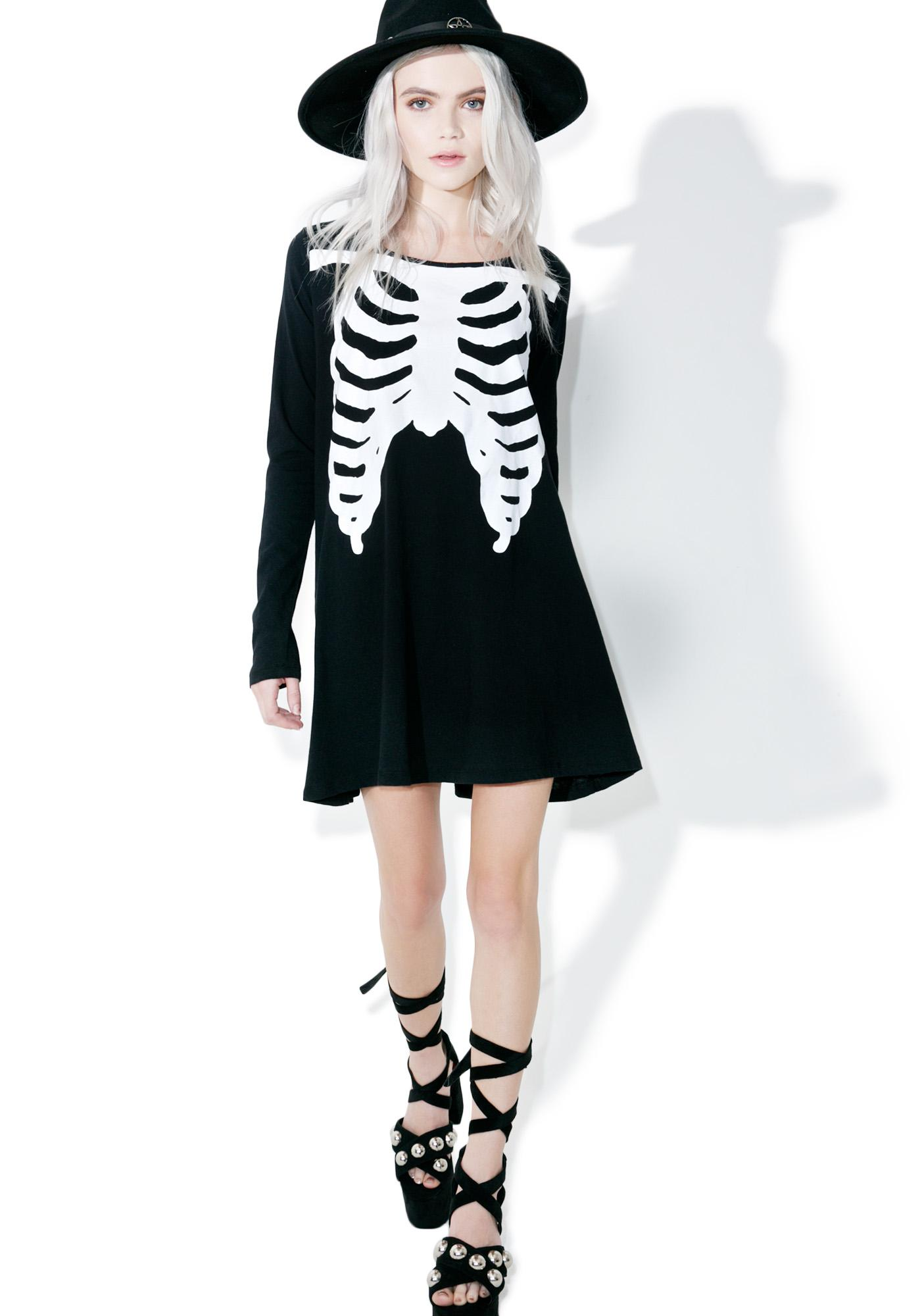 Iron Fist Wishbone Trapeze Dress