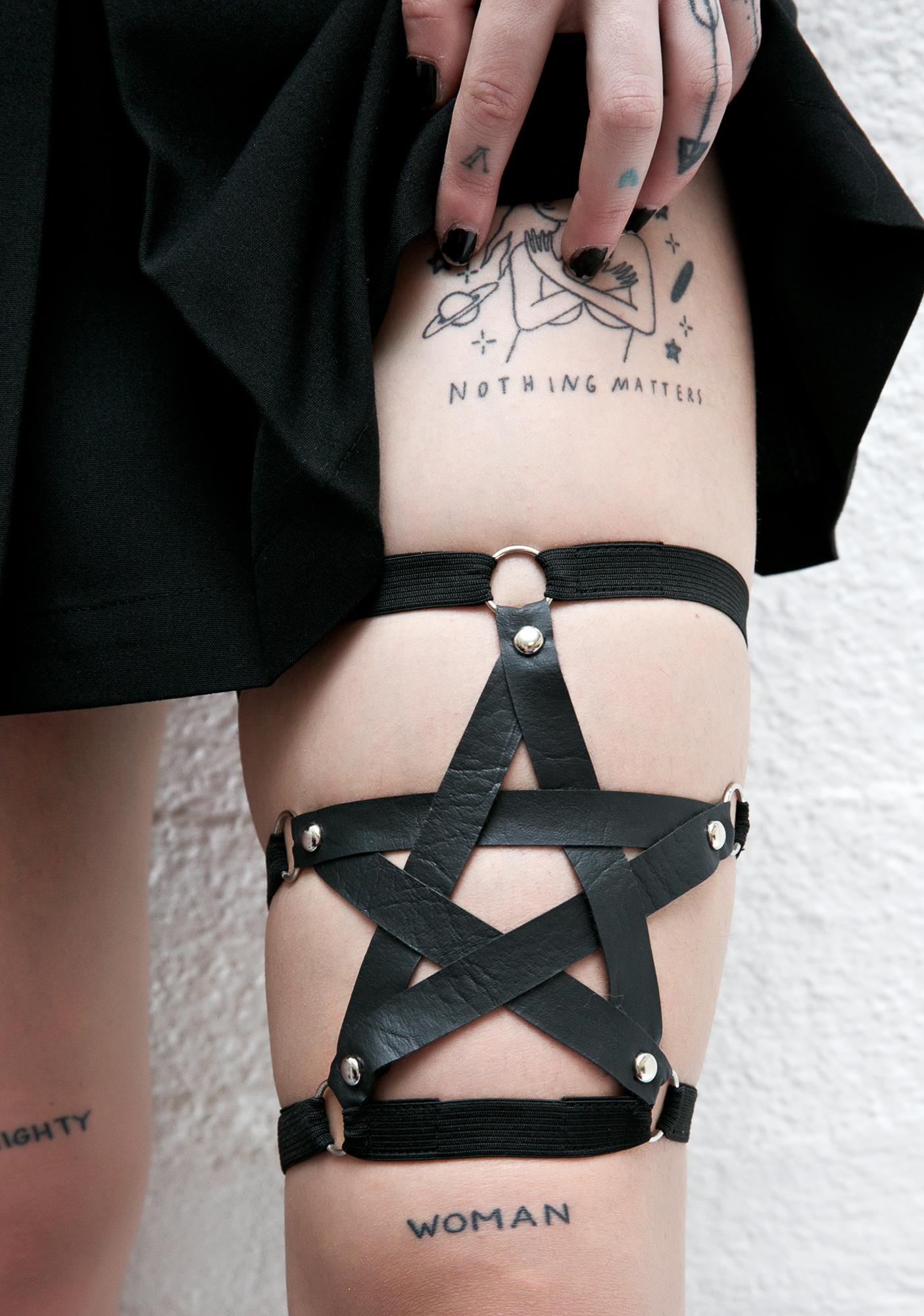 Pentagram Garter