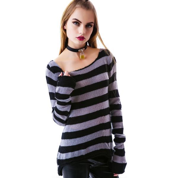 Sourpuss Clothing Lets Pogo Sweater