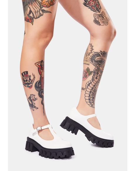 Shin Platform Loafers