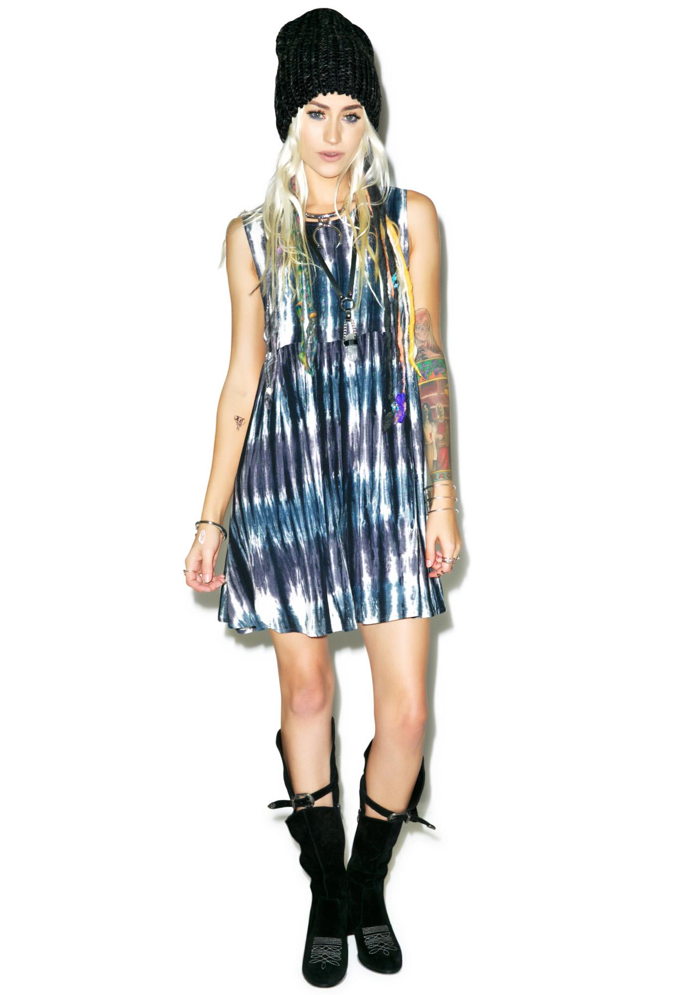 Motel Sunshine Smoke Dress