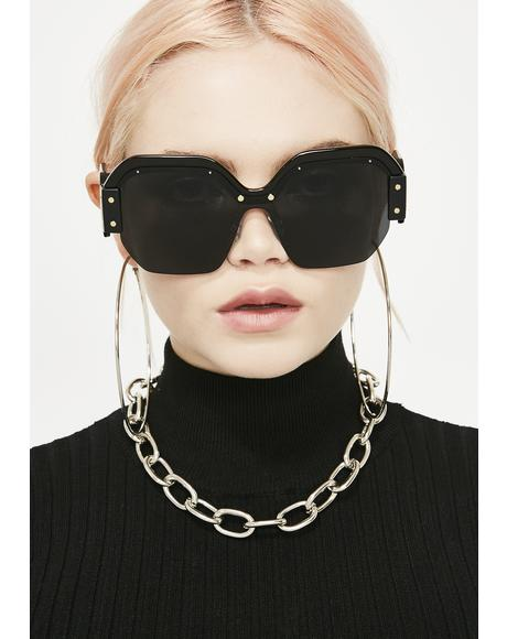 Wicked Fashion Killa Oversized Sunglasses