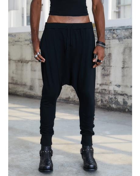 Kickdrum Drop Crotch Sweatpants