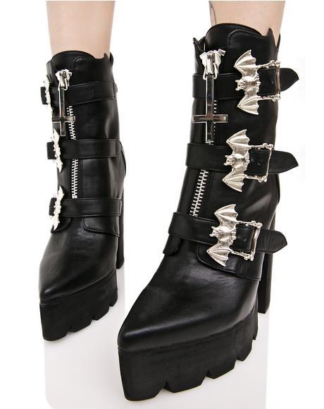 Hellbat Platform Boots