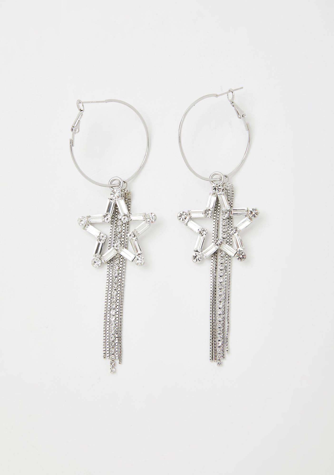 All My Wishes Star Earrings
